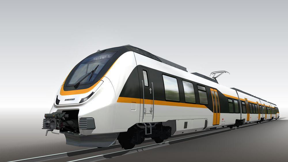 Uten kjøreledning: Det nye regiontoget Talent 3 kan gå inntil 100 km på batteri.
