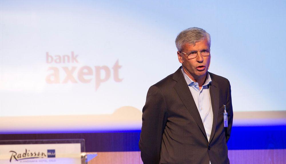 Mathias Martinsen, styreleder i BankAxept, jobber med å forbedre mobilbetaling for alle parter.