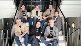 KOMMER OGSÅ: Vika Band er et av bandene som skal spre god stemning denne lørdagen!