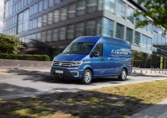 Volkswagen e-Crafter er en elektrisk utgave av varebilen Crafter.