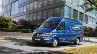 Volkswagen lanserer helelektrisk varebil