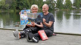 GLEDER SEG MAX: Lone Schrøder og Tore Gjedrem i Kolben inviterer hele kommunen til en eventyrlig helg!