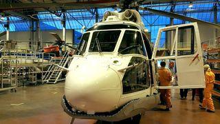 Flyforbudet: Denne 83-modellen må tilbake i lufta mens nye helikoptre står på bakken