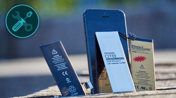 Nytt batteri til en hundrings ga vår gamle iPhone en skikkelig boost