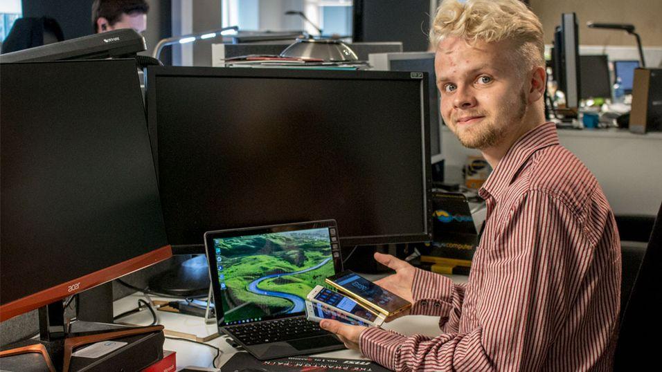 Torstein Norum Bugge har vært frilanser hos Tek.no i lang tid, og tester alt fra billigmobiler til droner.