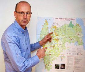 PROVOSERT: – Vil Oppegård ha Vinterbro, kan vi få hele Kolbotn sentrum av dem i gjengjeld, sier ordførerern i Ås, Ola Nordal.