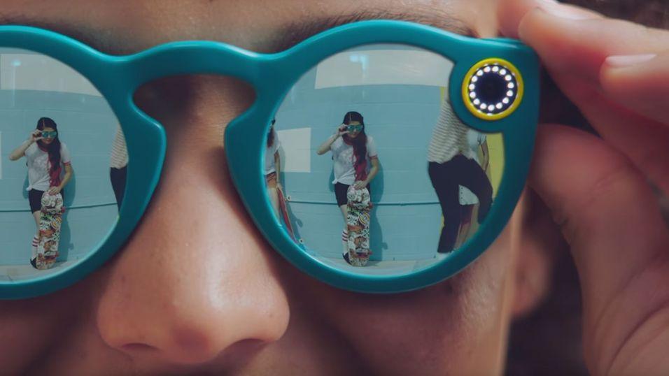 Snapchats nye kamerabriller Spectacles.