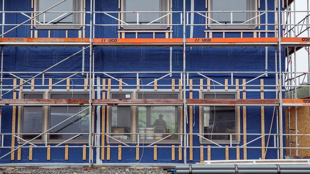 Det nye fengselsbygget på Ullersmo består av 166 prefabrikerte moduler.
