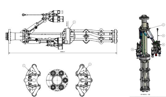CAD-tegningene: Slik ser Sub Sea Services sin ROPS ut mens den tegnes og designes.