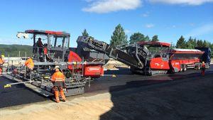 C02-reduksjon på inntil 90 prosent fra asfaltfabrikker