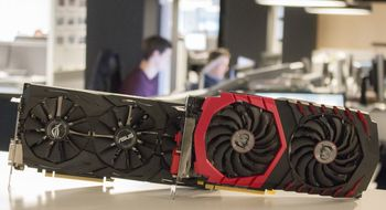 Test: Asus GTX 1060 «Strix OC» møter MSI RX 480 «Gaming X»