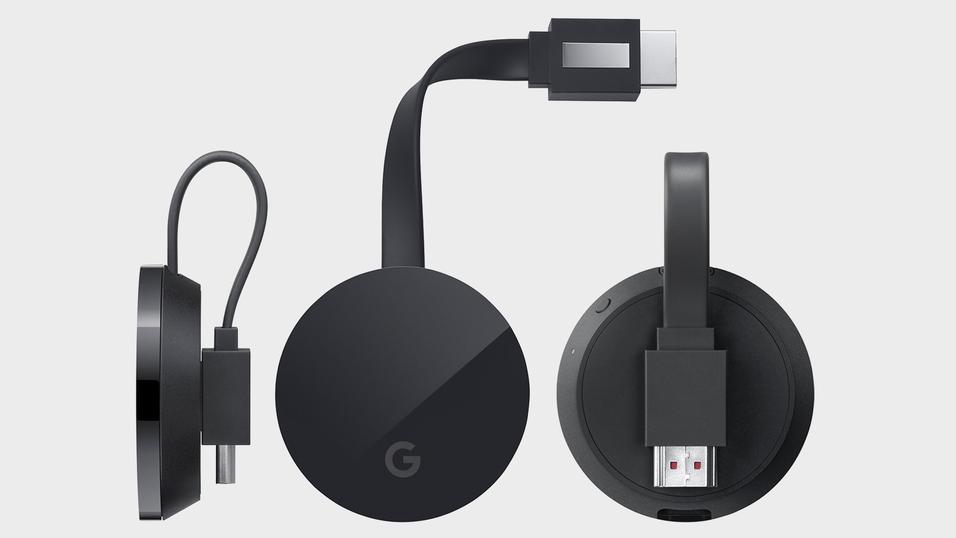 Slik ser 4K-Chromecast-modellen ut, ifølge de nye lekkasjene.