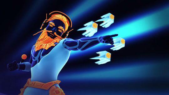 Elektronika-Zeus i egen høye person – på mange måter minner Klangs historie litt om den i God of War II.