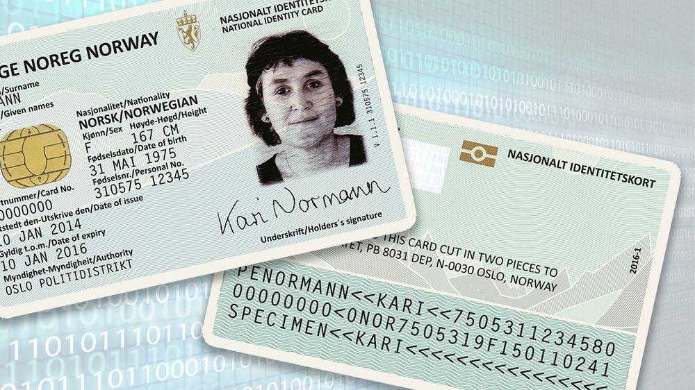 Det planlagte nasjonale ID-kortet vil inneholde også elektronisk id (eID), og skal kunne brukes til både offentlige og private digitale tjenester.