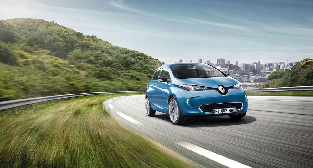 Renualt Zoe lanseres trolig med 41 kilowattimers batteri under bilmessen i Paris.