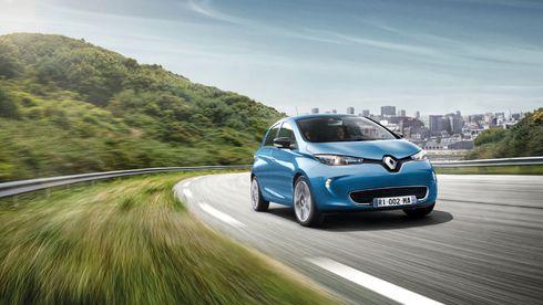 Renault dobler batteripakken