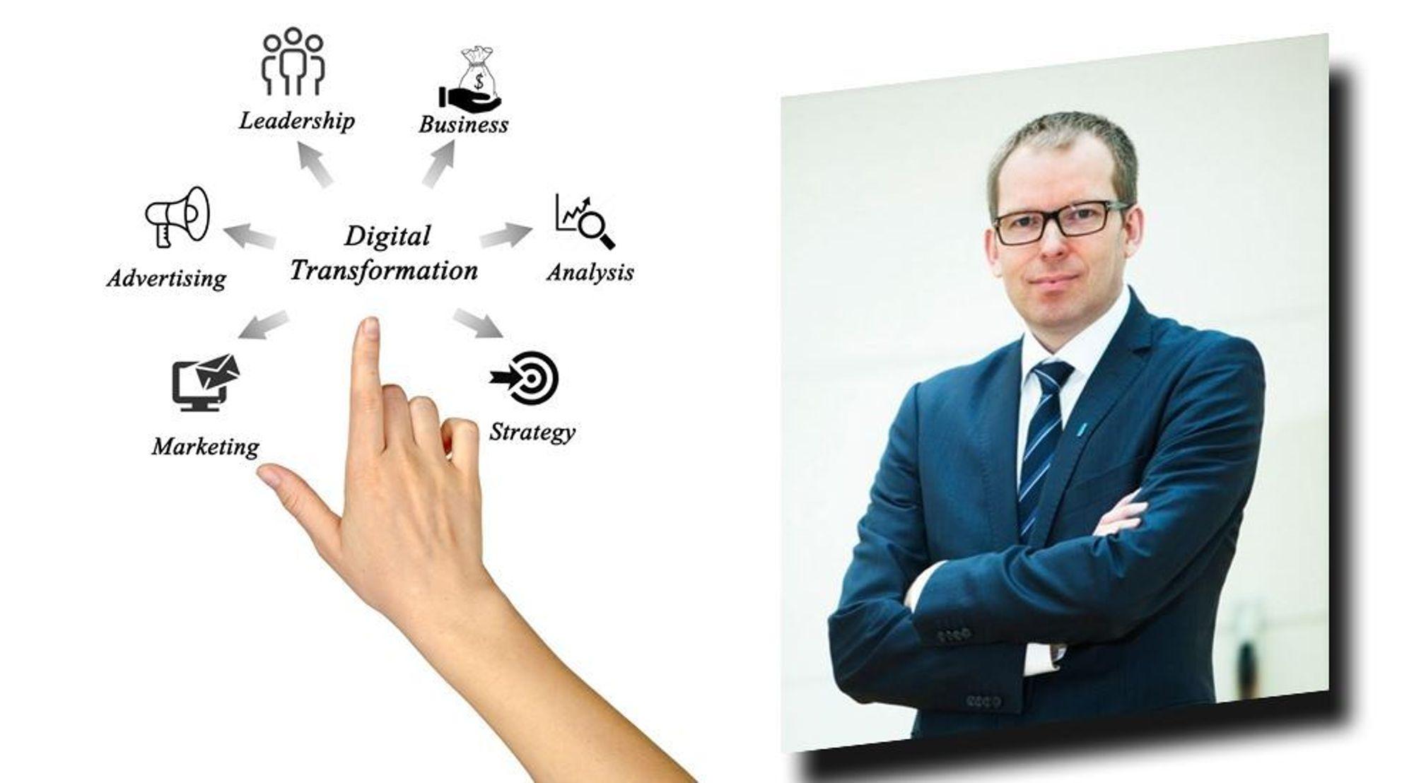 Må tørre: Skal digital tenkning gjennomsyre virksomheten, kan ikke topplederen være den som forstår minst, skriver Håkon Haugli i denne kommentaren.
