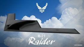 Illustrasjon av USAs kommende strategiske bombefly.