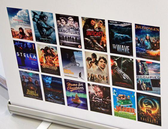 Noen av filmproduksjoner som har benyttet Drylabs system.