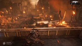 Skjermbilde fra Gears of War 4.
