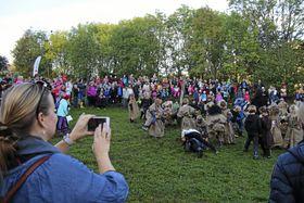 HERLIG EVENTYR: Eventyrfestivalen ble en gedigen suksess i år! Kanskje den beste noensinne!