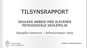 SLAKT: Fylkesmannen gir stryk-karakter til flere lokale skoler. Les rapportene i sin helhet på oavis.no!