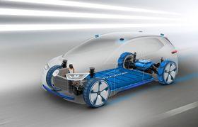 I.D. er først til å benytte VWs nye MEB-plattform.
