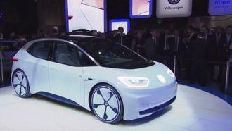 Konseptutgave av den kommende Volkswagen-elbilen ID.