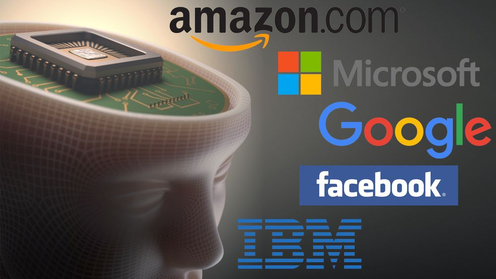 Amazon, Facebook, Google, IBM og Microsoft skal samarbeide om kunstig intelligens.