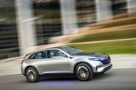 Mercedes-Benz Generation EQskal komme i salg innen tre år.