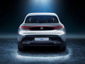 Bilen har et annet designuttrykk enn Mercedes' øvrige biler. Men den vil antakeligvis ikke se helt slik ut når den kommer i salg.