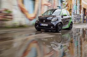 Nye Smart-biler ble vist frem igjen.