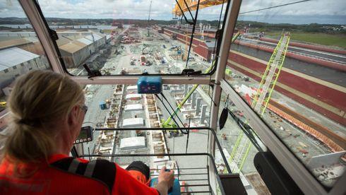 Her er de i gang med å bygge en av de største investeringene i norsk fastlandsindustri