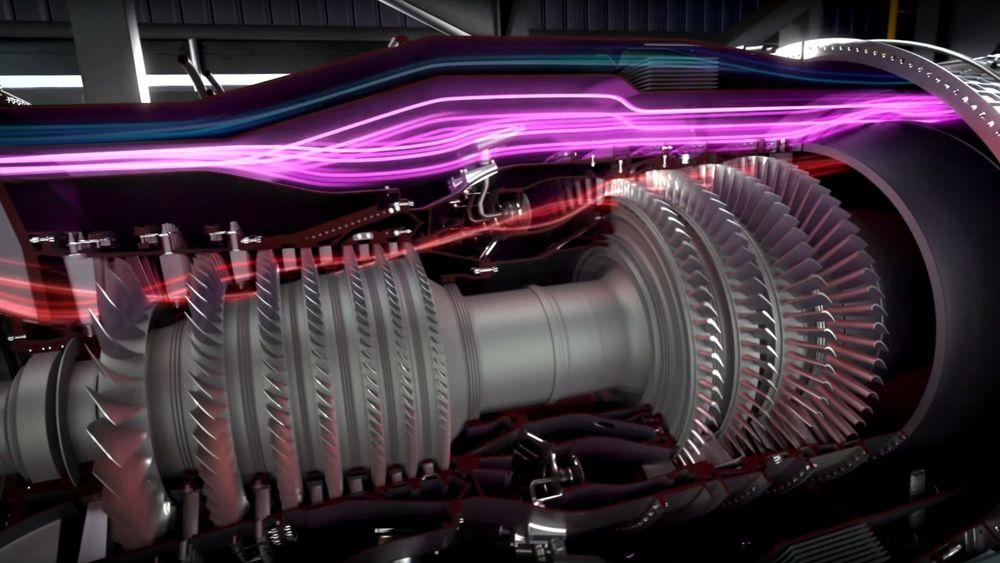Illustrasjon av GE Adaptive Cycle Engine.