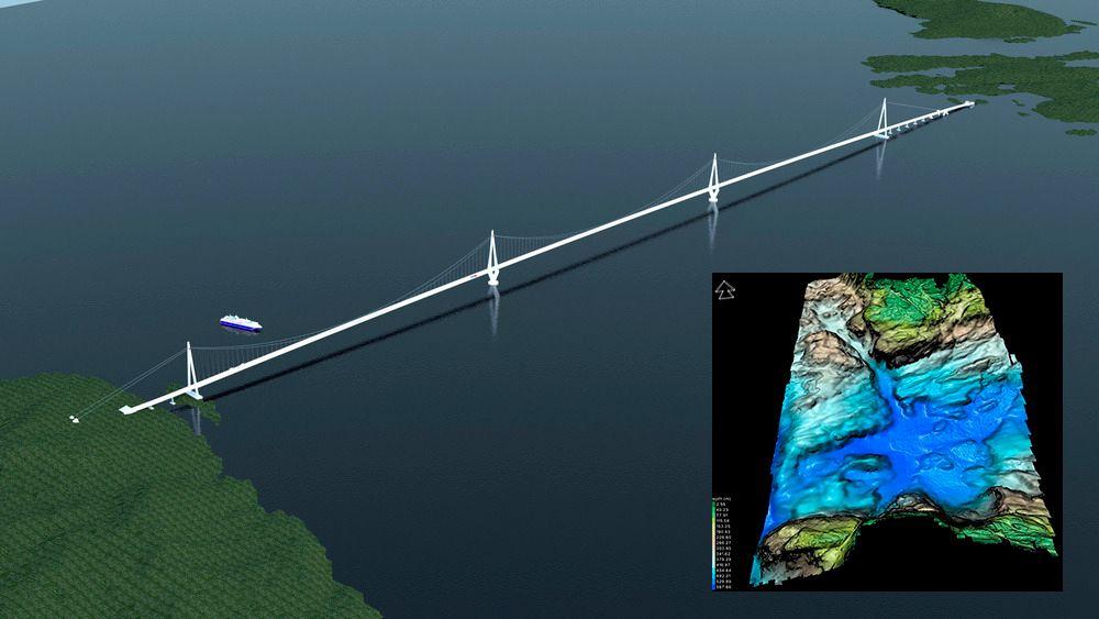 En rekke prøver av havbunnen under Bjørnafjorden vil avgjøre hvilke type fjordkryssinger som er aktuelle over dem fem kilometer lange fjorden.
