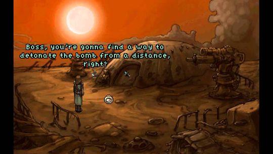 Hjelp roboten på hans eventyr.