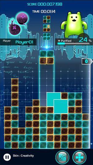 Lumines: Puzzle and Magic.