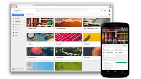 Google bytter navn på skytjenestene og introduserer en rekke nye samarbeidsfunksjoner