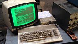 25 år gammel Commodore 64 gjør fortsatt nytten i bilverksted