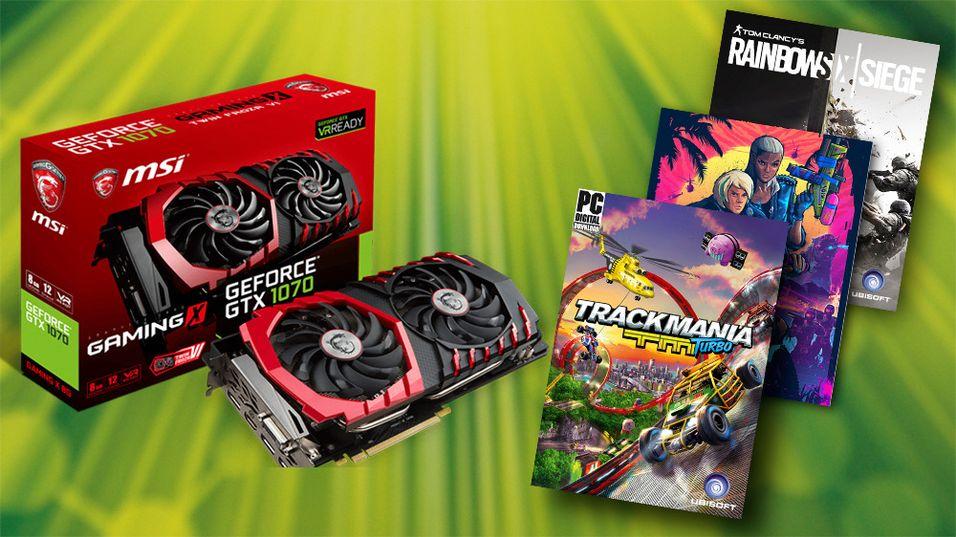 KONKURRANSE: Vinn grafikkort fra MSI eller spillpakke fra Ubisoft