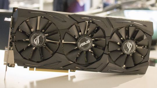 Asus GTX 1060 Strix OC.