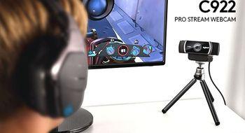 Logitech slipper webkamera for deg som strømmer spillingen din på Internett