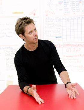 Sven Stormer Thaulow gleder seg til å ta fatt på sine nye arbeidsoppgaver i Cisco Norge.