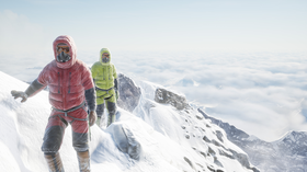 Viveport byr blant annet på en virtuell VR-reise til Mount Everest.