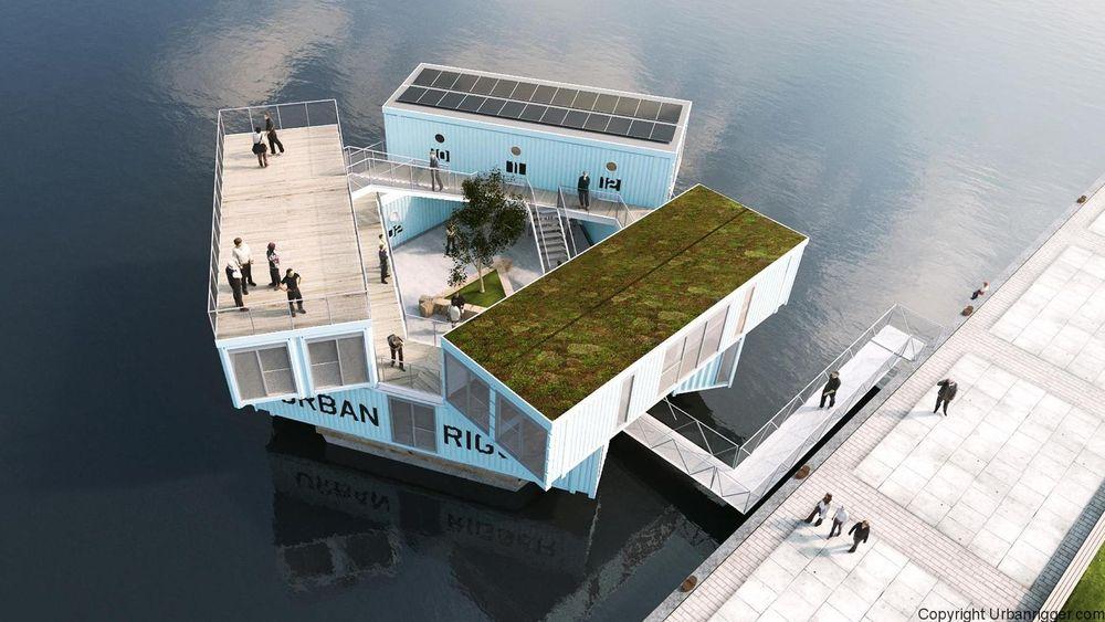 For å løse den store mangelen på studentboliger i Europas storbyer har Udvikling Danmark utviklet det helt nye konseptet, Urban Rigger.
