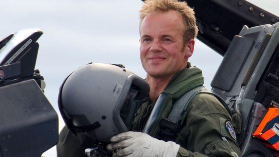 TESTPILOT: Eskil Amdal er blant Norges mest erfarne piloter. Bildet er tatt ved en tidligere anledning.
