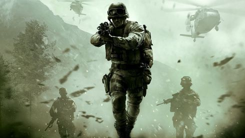 Du  må  ha Infinite Warfare-disken i konsollen for å spille Modern Warfare Remastered