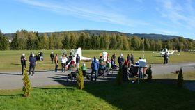 TILRETTELEGGER: Drammen Flyklubb jobber aktivt med å tilrettelegg idretten for handicappede.