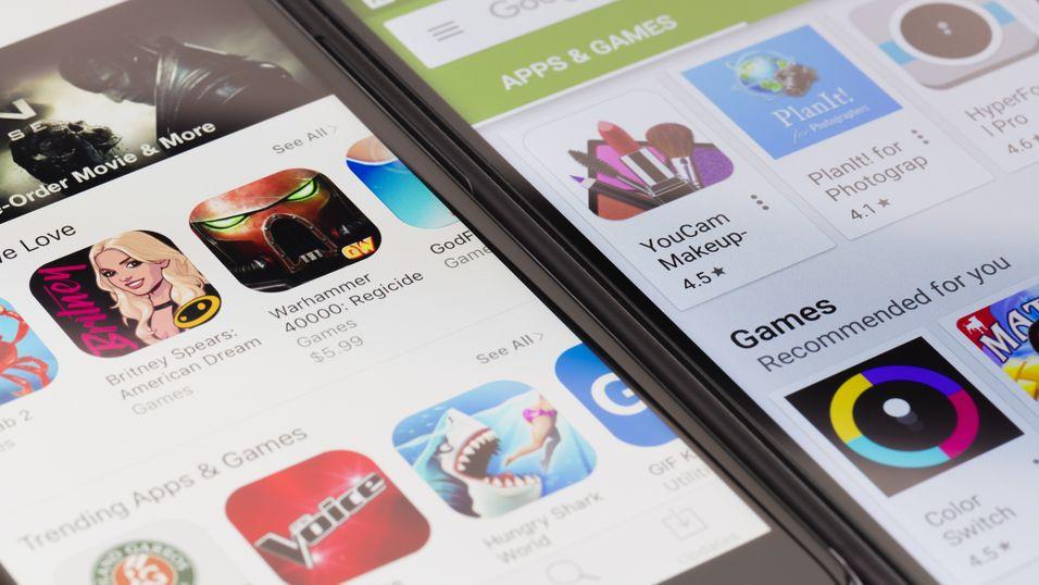 Det finnes over to millioner apper til mobilen din. Hvor mange av dem kan du navngi?
