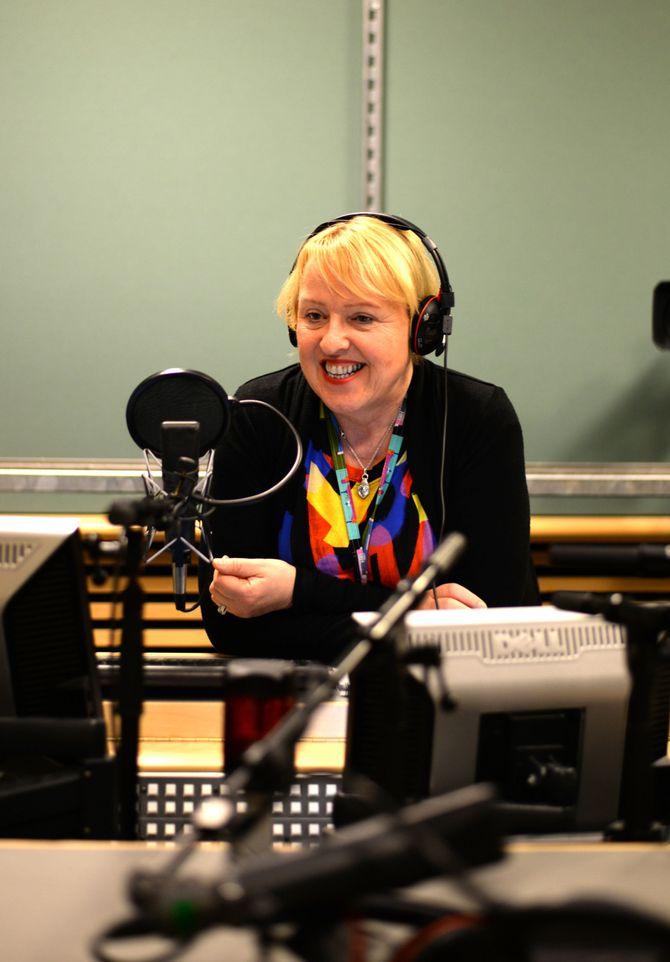 NRKs distriktsdirektør Grethe Gynnild-Johnsen.